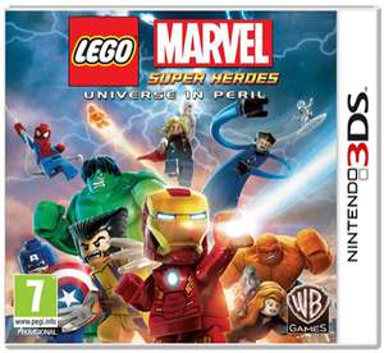 Lego Marvel Superheroes sur Nintendo 3DS