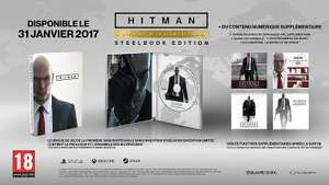 Hitman : The Complete First Season sur PC - Edition Steelbook
