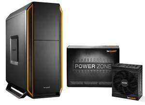 Boitier PC Be Quiet! Silent Base 800 - Orange + Alimentation modulaire Power Zone 650W - 80+ Bronze
