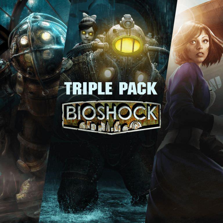Bioshock Triple Pack: Bioshock 1 + Bioshock 2 + Bioshock Infinite - Versions Originales + Remastered sur PC (Dématérialisé - Steam)