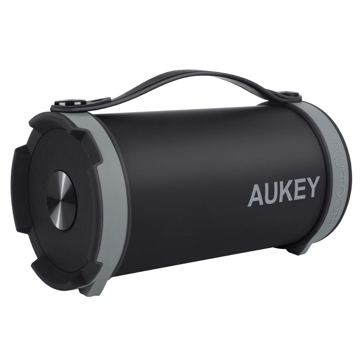 Enceinte Portable Bluetooth Aukey Sport avec Sangles - Radio FM, Batterie Intégrée (vendeur tiers)