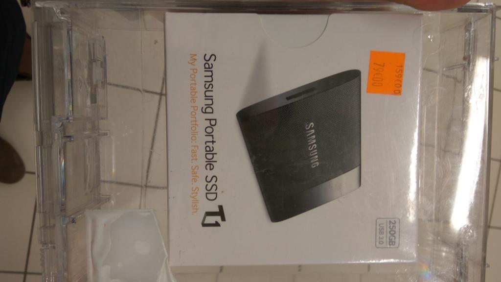 "SSD externe 2.5"" Samsung T1 - 250 Go - Intermarché Hyper Agen (47)"