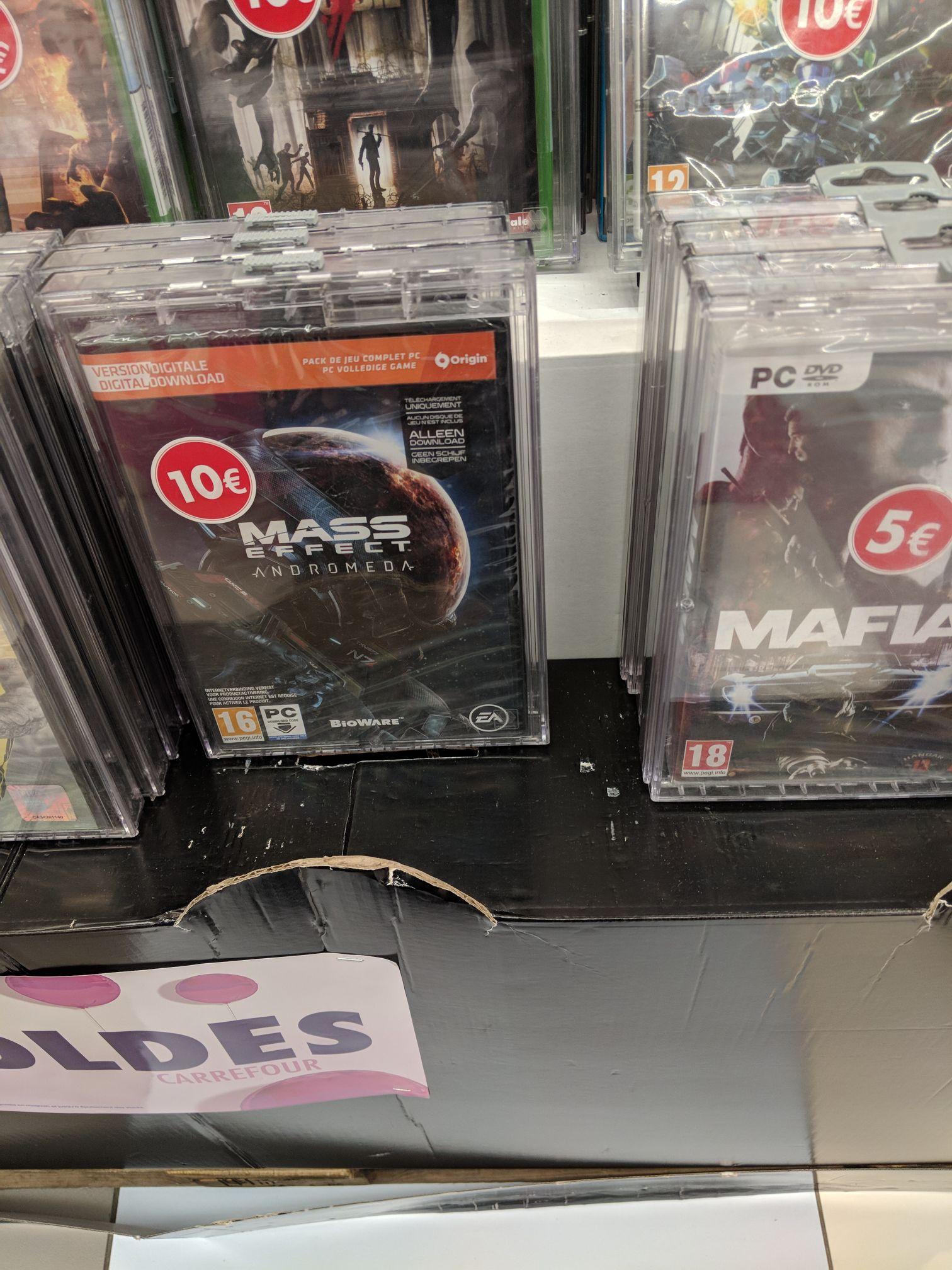 Mass Effect: Andromeda sur PC au Carrefour Villeneuve-la-Garenne (92)