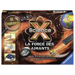 Kit d'expérience Ravensburger Mini Science X - La force des aimants (18765)