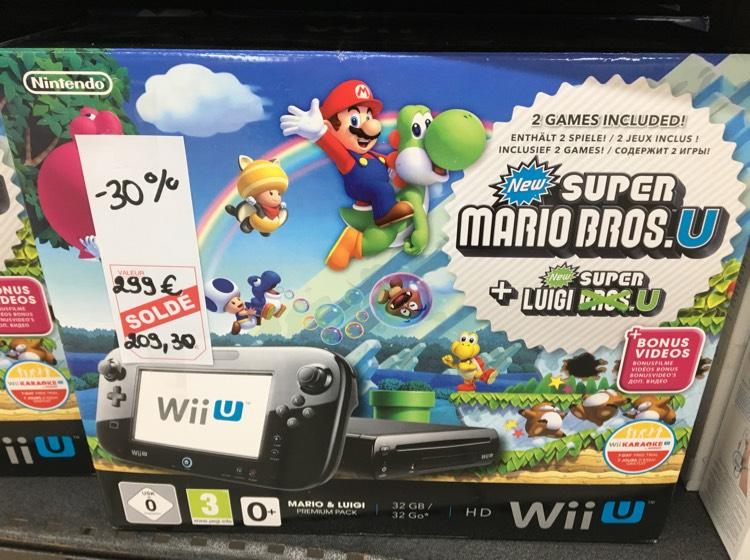 Pack console Nintendo Wii U + + New Super Luigi U New Super Mario Bros. U au Intermarché Carentan (50)