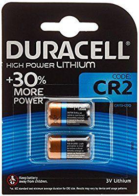 [Panier Plus] Lot de 2 piles CR2 Duracell High Power Lithium