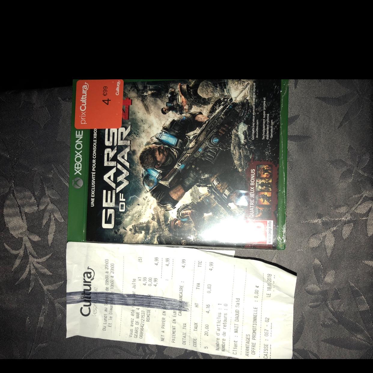 Gears of War 4 sur Xbox One chez Cultura Villennes-sur-Seine (78)