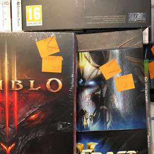Diablo 3 à 5.97€ et Starcraft 2 Legacy of The Void à 8.97€ sur PC - Issoire (63)