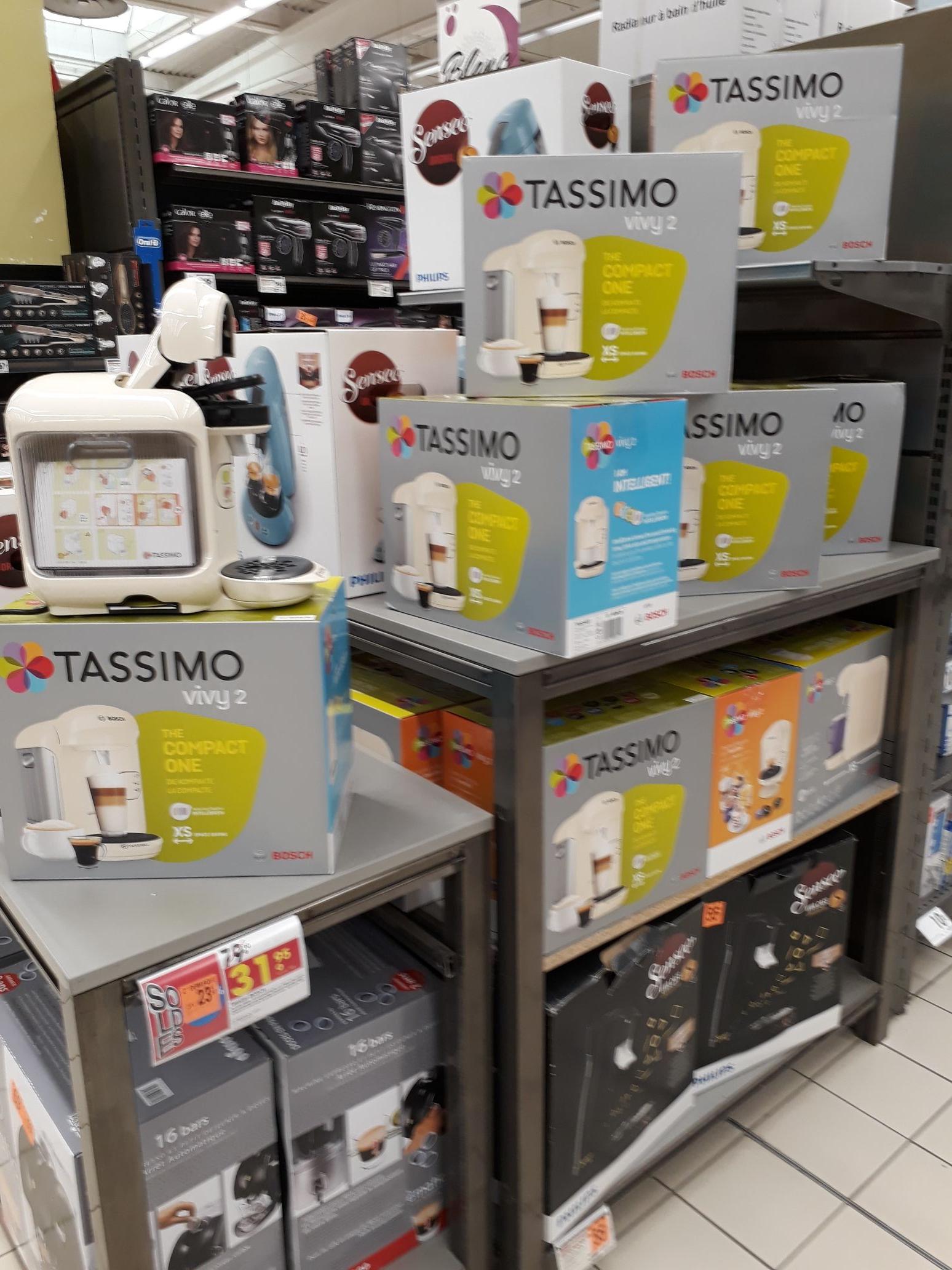 Machine à café Tassimo Vivy Vanille TAS1407 - Cholet (49)
