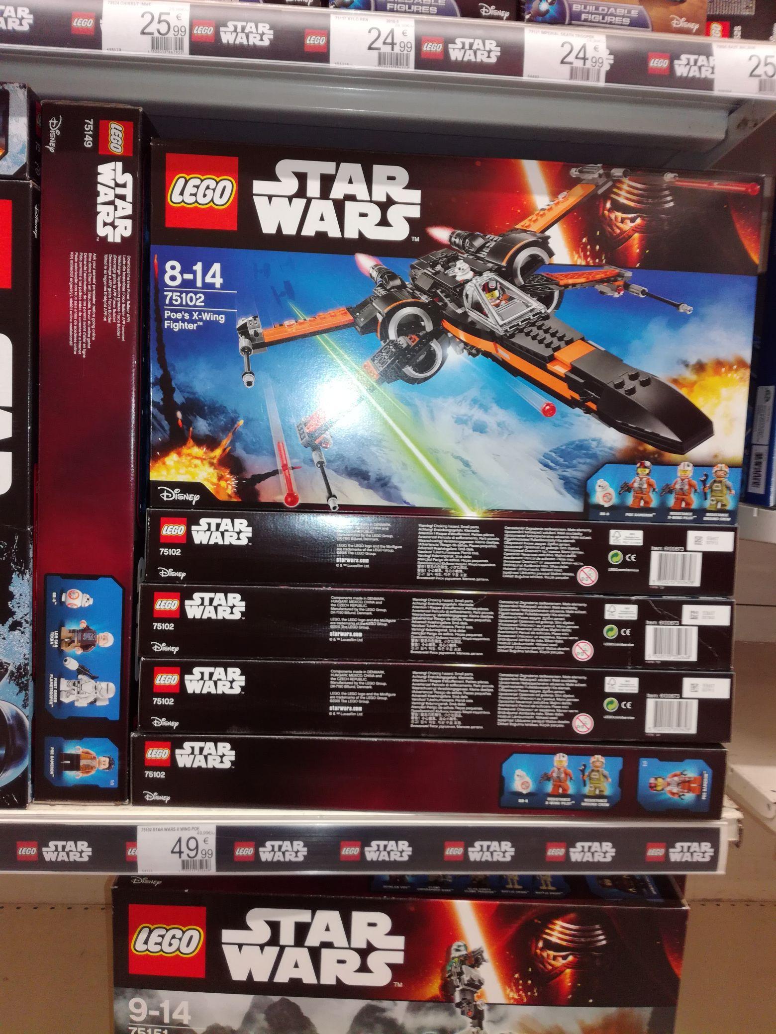 Jouet Lego Star Wars 75102 Poe's X-Wing Fighter - Longwy  (54)