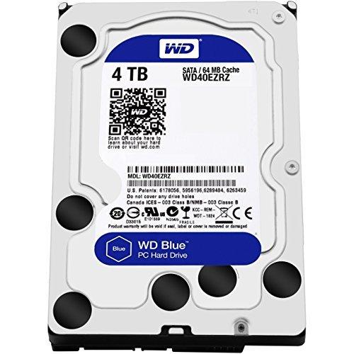 "Disque dur interne 3,5"" Western Digital WD Blue (WD40EZRZ) - 4 To, 5400 trs/min"