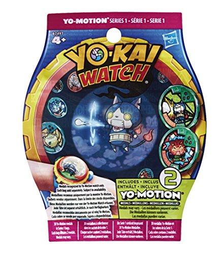 [Panier Plus] Sachet de médaillons Yo-kai Watch Yo-Motion saison 2 série 1