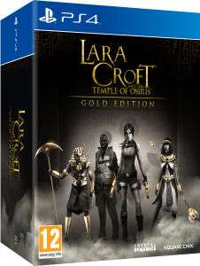 Lara Croft and the Temple of Osiris Gold Edition sur PS4