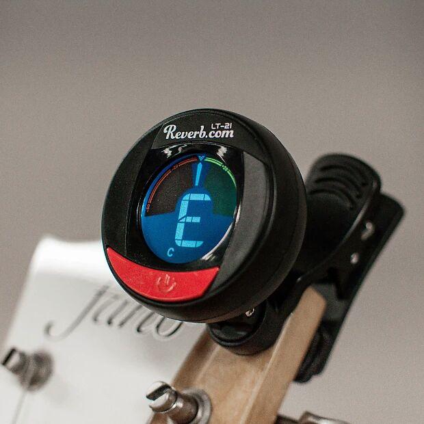Accordeur à pince pour instruments à cordes Reverb Clip-On Tuner