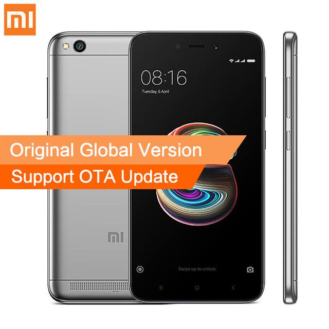 "Smartphone 5"" Xiaomi Redmi 5A - HD, Snapdragon 425, RAM 2 Go, ROM 16 Go (B20)"
