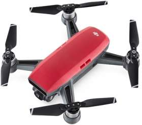 Mini-drone quadricoptère RTF DJI Spark Fly More Combo Magma - rouge