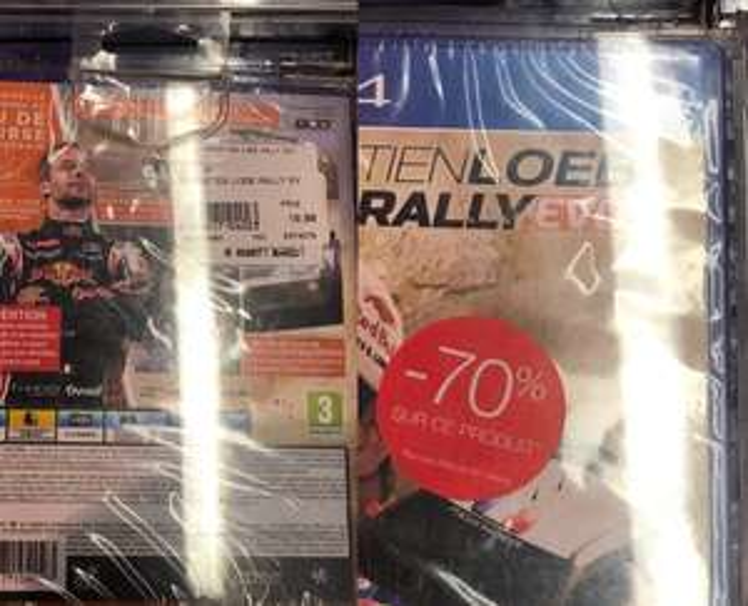 Sébastien Loeb Rally Evo sur PS4 à la Fnac Saint-Lazare Paris 9ème (75)
