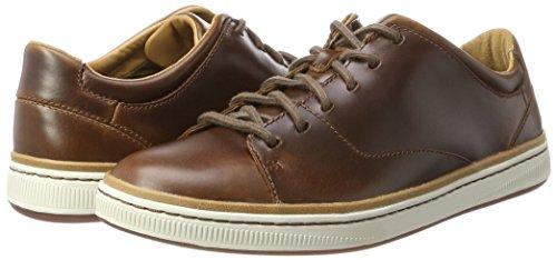 Chaussures Clarks Norsen Lace - Cuir Tan à partir de 47.35€