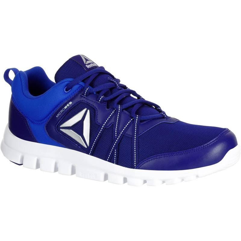 Chaussures de Marche Reebok YourFlex Bleu pour Hommes - Tailles au choix
