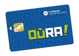 Carte de transport OùRA ! gratuite (au lieu de 5€) - Réseau TUB Bourg en Bresse (01)
