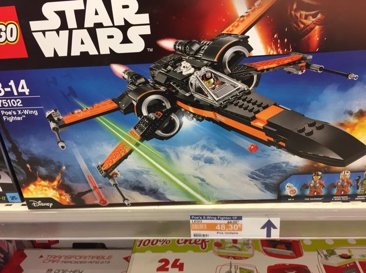 Jouet Lego Star Wars - Poe's X-Wing Fighter (75102) au E.Leclerc Le Mans (72)