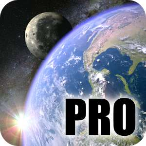 Earth & Moon in HD Gyro 3D PRO Parallax Wallpaper sur Android