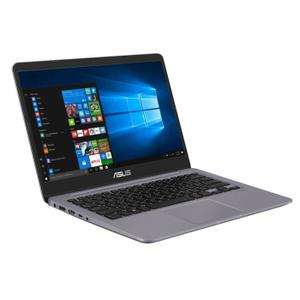"PC portable 14"" Asus S410UN-EB116T  - i7-8550U, 12 Go, 1 To + 128 Go SSD, GeForce MX150 2 Go"