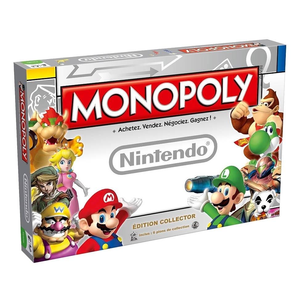 Jeu de société Monopoly Nintendo - Editor Collection