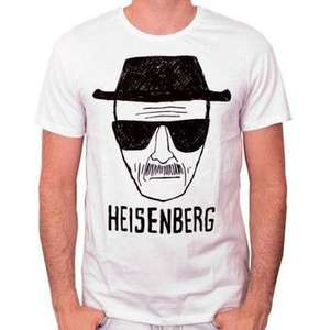 T-Shirt officiel Breaking Bad - Heisenberg (vendeur tiers)