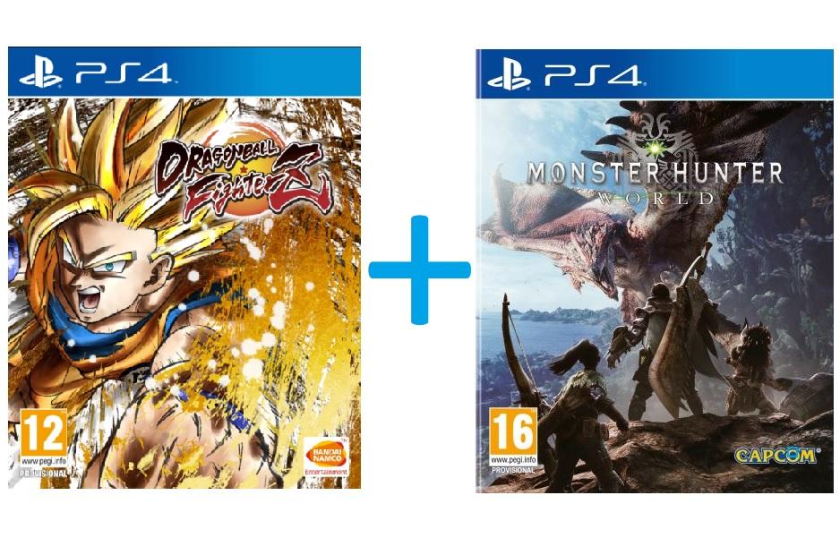 [Précommande] Jeux Dragon Ball Fighter Z + Monster Hunter World sur PS4 ou Xbox One - Forum des Halles (75)