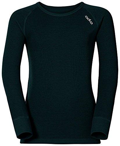 T-Shirt à manches longues pour enfant Odlo Crew Noir