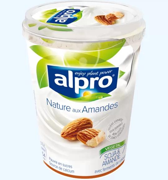 Pack Yaourt Alpro Nature Gratuit (Noix De Coco ou Amandes) - 500g (Via ODR 100% remboursés)