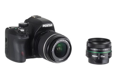 Reflex Pentax K-50 + Objectif 18-55 WR + 50 MM F/1,8 (+ 50€ en bons d'achats)