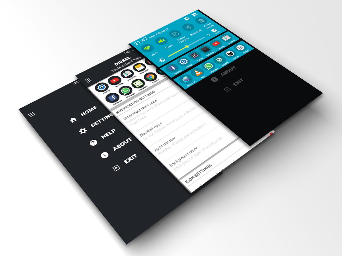 Recent App Switcher - DIESEL Gratuit sur Android (au lieu de 0.59€)