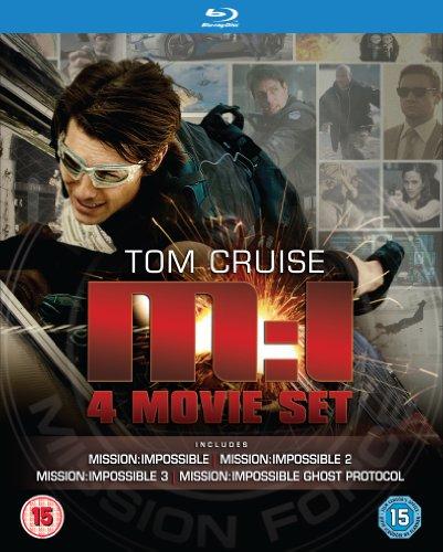 Coffret Blu-ray Mission Impossible - Film 1 à 4 (VF)