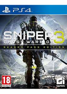 Sniper : Ghost Warrior 3 - édition Season Pass sur PS4