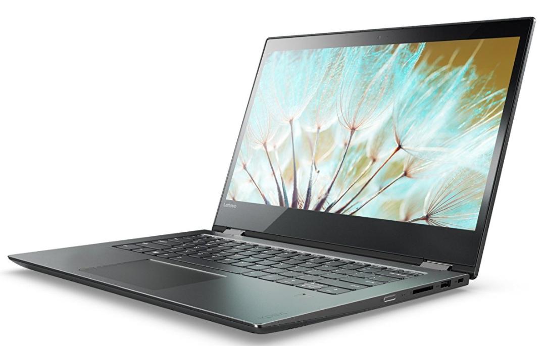 "Ultrabook tactile 14"" Lenovo YOGA 520-14IKB Noir Onyx (Intel Core i3, 4 Go de RAM, SSD 128 Go, Intel HD Graphics, Windows 10)"