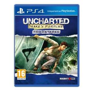 Uncharted Drake's Fortune Edition Remastérisée PS4