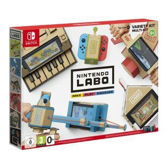 [Pré-commande] Kits Toy-Con Nintendo Labo pour Switch - Ex : Multi-Kit à 51,49 €