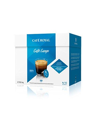 [Prime] Café Royal Caffè Lungo Nouvelle Génération - 48 dosettes (Lot de 3X16)