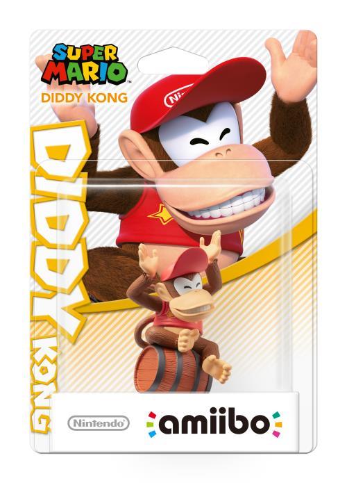 Sélection d'amiibo en promotion : Diddy Kong, Daisy, Waluigi