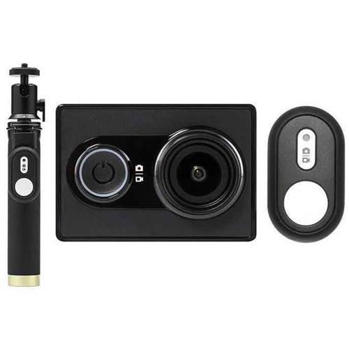 Caméra sportive YI 2K 16Mpx Full HD avec selfie stick et télécommande