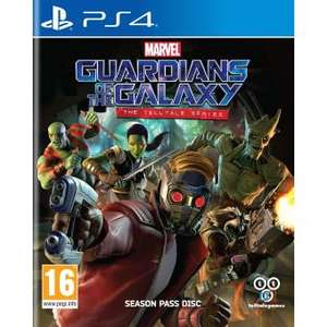 Sélection de jeux en promotion - Ex: Marvel's Guardians of the Galaxy The Telltale Serie sur PS4