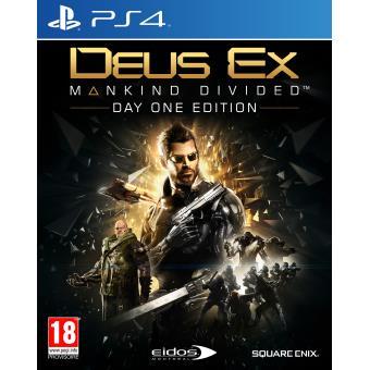 Sélection de jeux en promotion - Ex: Deus ex Mankind Divided Day One Edition sur PS4