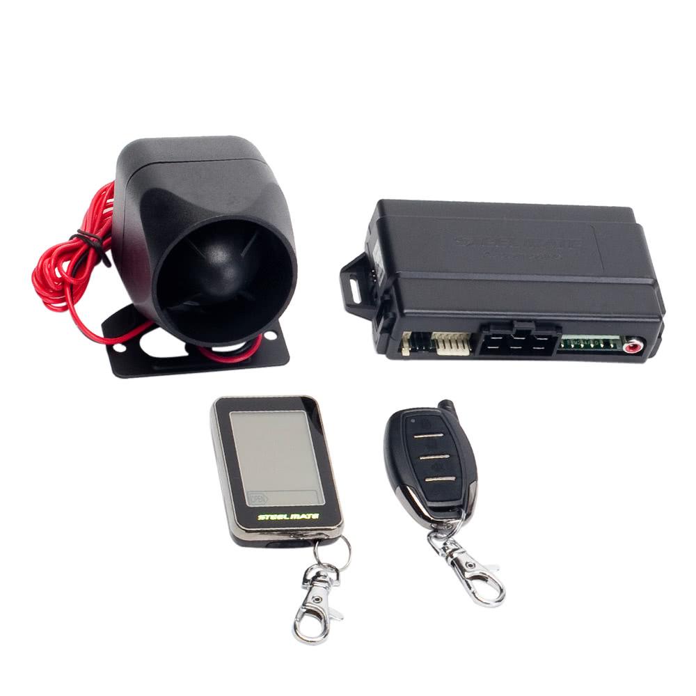 Kit d'alarme voiture/auto Steelmate T8210 avec transmetteur écran tactile