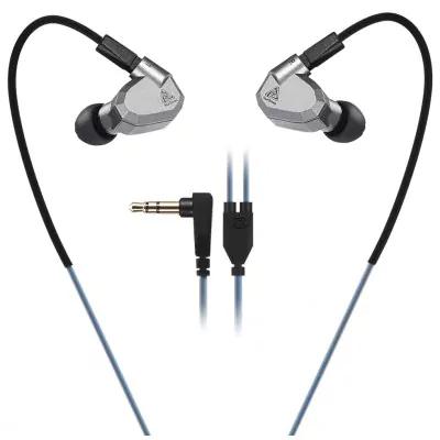 KZ ZS5 Écouteurs HiFi Détachables  - Gris
