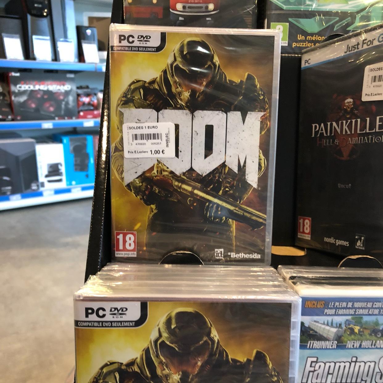 Doom sur PC au E.Leclerc Amilly (45)
