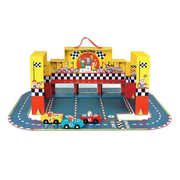 Circuit / puzzle Janod Mallette Grand Prix Story