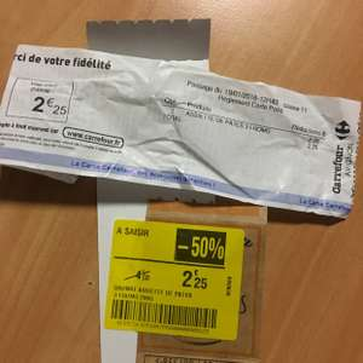 Assiette de pâtes Daunat Penne aux 3 Fromage & Bacon gratuite - 100% remboursée (via 2.25€ sur la carte de fidélité) - Carrefour Avignon (84)