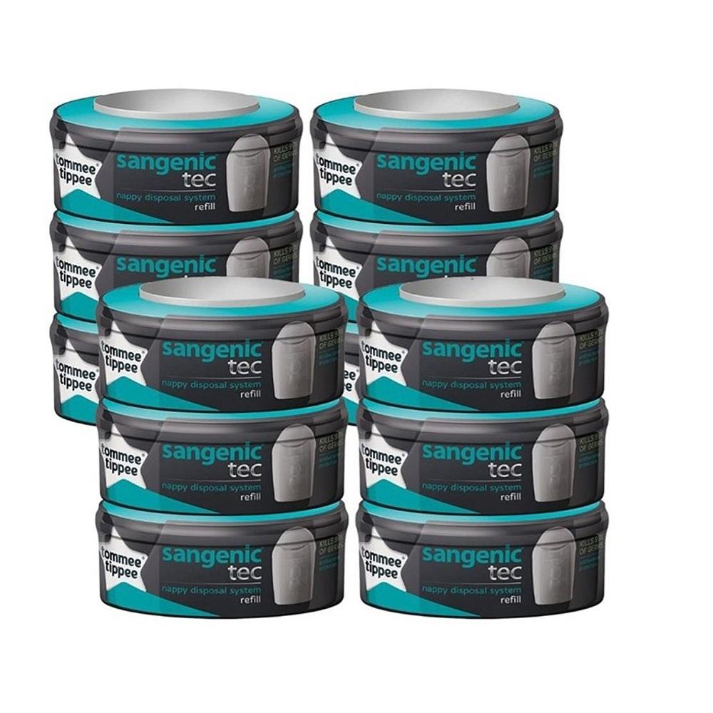 Pack de 12 Recharges Sangenic Tec pour poubelle à couches